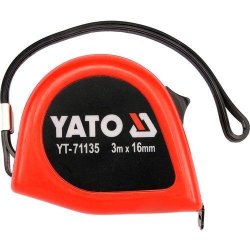 Yato  miara zwijana 3m x 16mm 71135 (5906083711350)