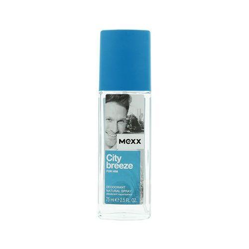 Mexx city breeze for him. dezodorant w sprayu dla mężczyzn, 75ml - mexx (8005610291543)