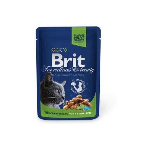 (bez zařazení) Brit cat saszetka sterilised 100g - kurczak (8595602506033)