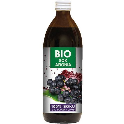 BIOAVENA 500ml Sok z aronii bez dodatku cukru Bio | DARMOWA DOSTAWA OD 150 ZŁ!