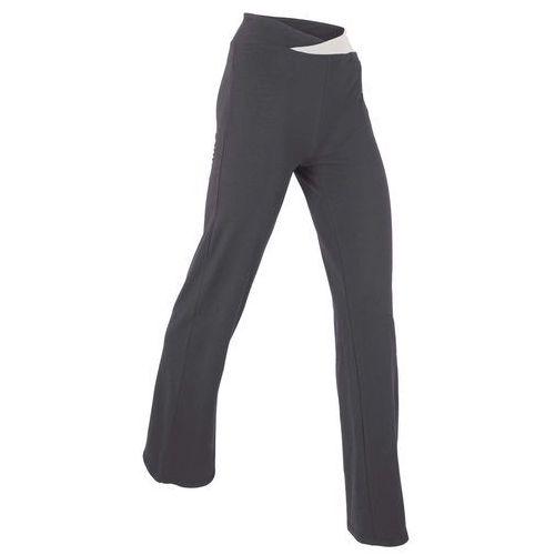 Spodnie sportowe, długie, level 1 szaro-matowy srebrny marki Bonprix