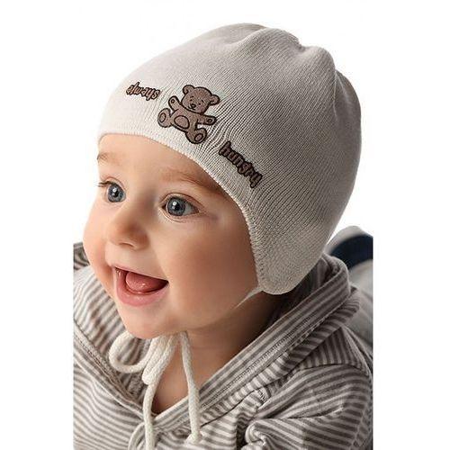 Czapka niemowlęca wiązana 5X34B0 (5900298452589)