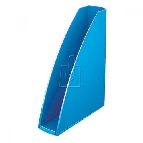 Pojemnik na dokumenty LEITZ WOW niebieski metalik