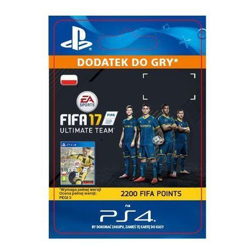 Sony Fifa 17 2200 punktów [kod aktywacyjny] (0000006200071)