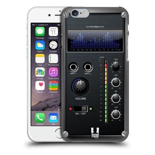 Etui plastikowe na telefon - Amp Box BLUE EQUALIZER