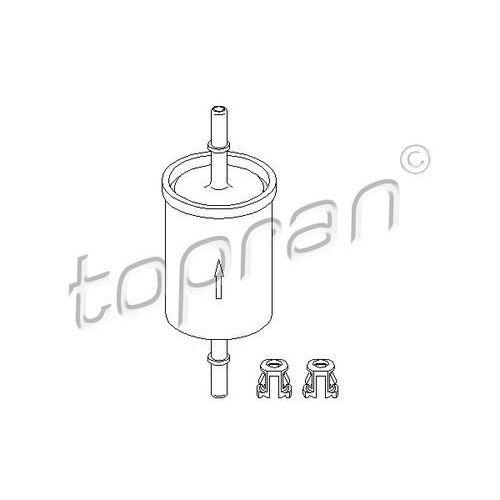 Filtr paliwa TOPRAN 201 622