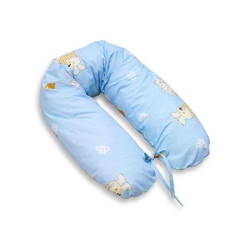 MAMO-TATO Poduszka dla kobiet w ciąży Baloniki błękitne