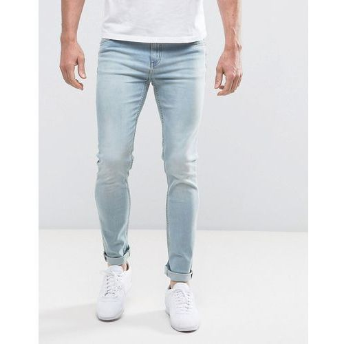 Cheap monday  tight cure blue skinny jeans - blue