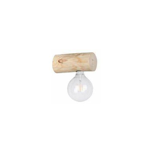 Spot Light Trabo Simple 6994150 kinkiet lampa ścienna 1x25W E27 drewno (5905840209017)