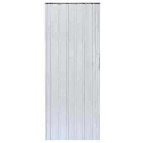 Gockowiak Drzwi harmonijkowe 008p 014 biały mat 80 cm