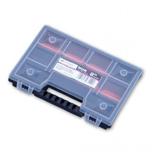 Mini Organizer Z Regulowanymi Przegrodami NOR08 PROSPERPLAST (5905197935492)