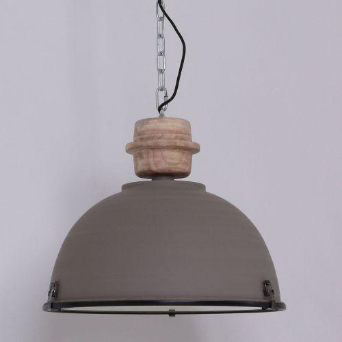 bikkel lampa wisząca siwy, 1-punktowy - przemysłowy - obszar wewnętrzny - bikkel - czas dostawy: od 10-14 dni roboczych marki Steinhauer