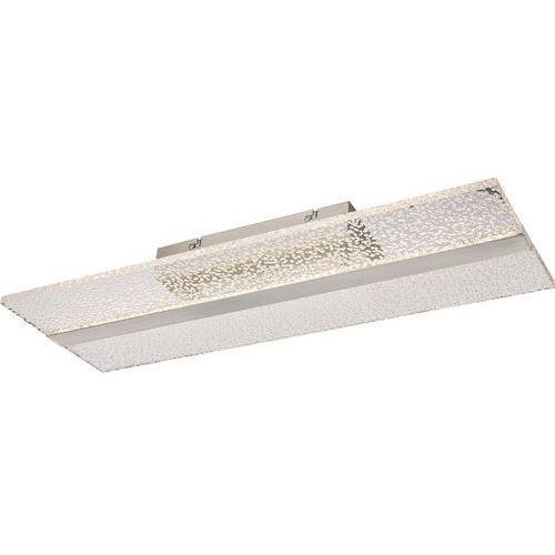 Globo Plafon klaus 68193d lampa sufitowa 1x24w led nikiel mat (9007371351404)