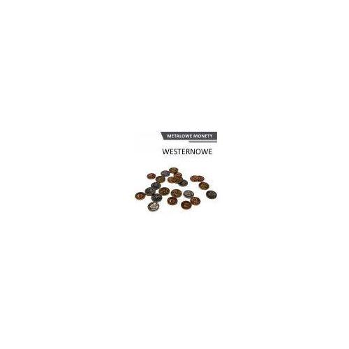 Metalowe monety - westernowe (zestaw 24 monet) marki Drawlab entertainment