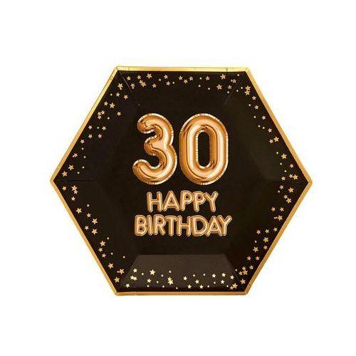 Neviti Talerzyki na trzydzieste urodziny happy birthday - 27 cm - 8 szt. (5060495973116)