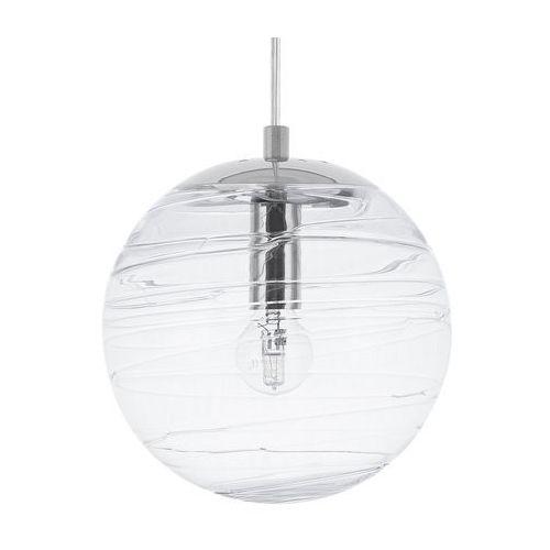 Lampa wisząca szklana transparentna mirna marki Beliani