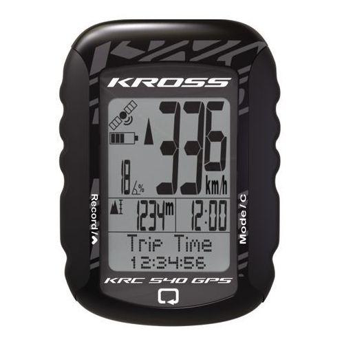 Licznik rowerowy krc 540gps bezprzewodowy marki Kross