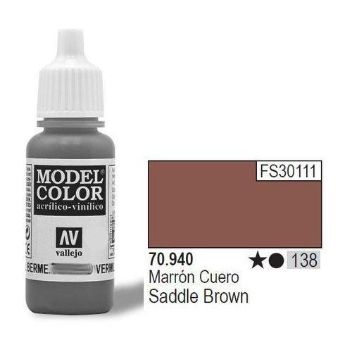 farba nr138 sadd le brown 17mlmatt marki Vallejo