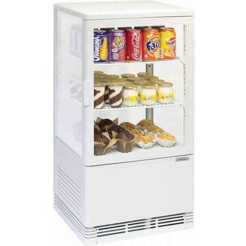 Witryna chłodnicza mini 58l biała marki Bartscher