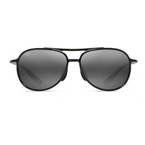 Okulary słoneczne alelele bridge polarized 438-02 marki Maui jim