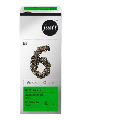 Herbata Just T No.6 Green Tea Classic - 25 x 2g, kup u jednego z partnerów