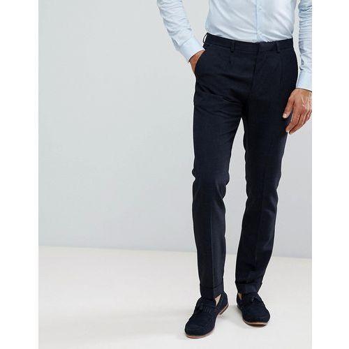 Burton Menswear Smart Trousers In Navy - Navy