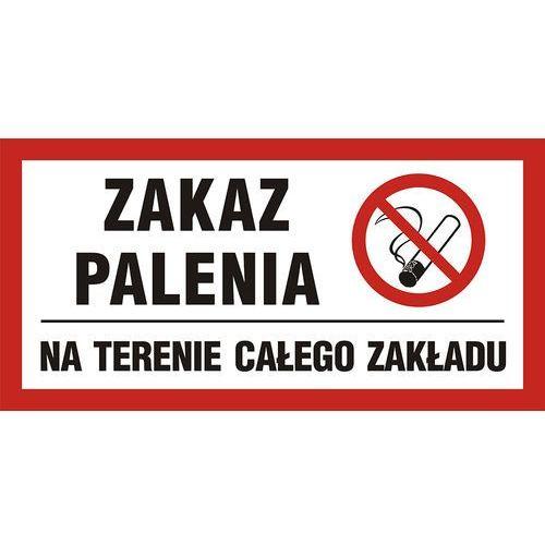 Zakaz palenia obowiązuje na terenie całego zakładu marki Top design