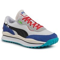 Puma Sneakersy - style rider ride on 37283901 01 p.white/dass blue/hogh rise