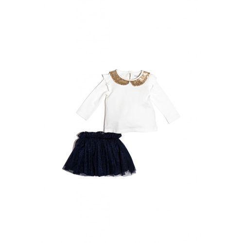 Minoti Komplet dziewczęcy bluzka+spódnica3p35a6
