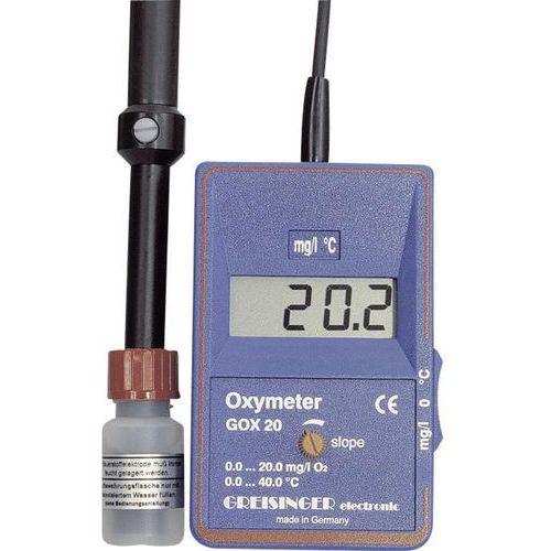 gox20, wraz z czujnikiem tlenu greisinger gox20 605291 wyprodukowany przez Greisinger