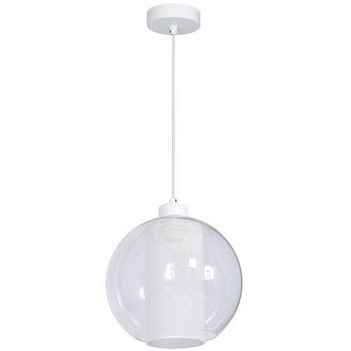 Żyrandol FUNA 1xE27/60W/230V biały