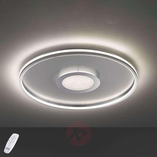 Lampa Sufitowa Fischer & Honsel Bug LED Chrom, 1-punktowy, Zdalne sterowanie - Nowoczesny - Obszar wewnętrzny - Bug - Czas dostawy: od 2-3 tygodni