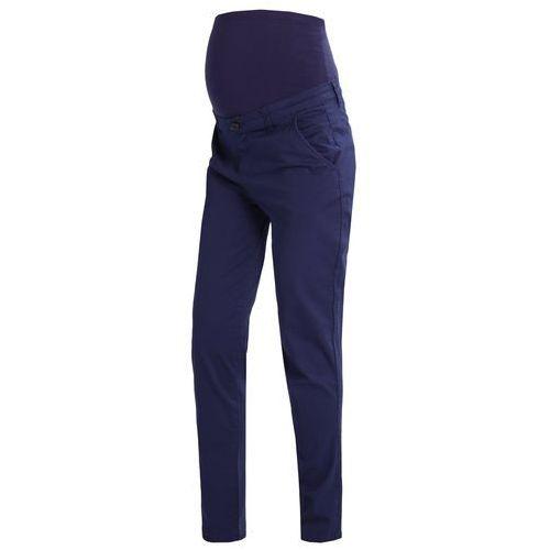 Zalando Essentials Maternity Spodnie materiałowe dark blue, kolor niebieski