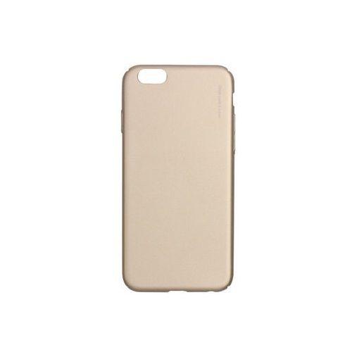 Apple iphone 6 - etui na telefon knight - gold marki X-level