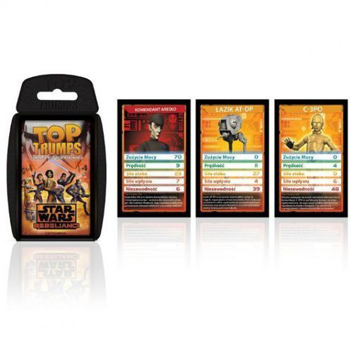 Winning moves Top trumps gra karciana sw rebels (5036905025270)