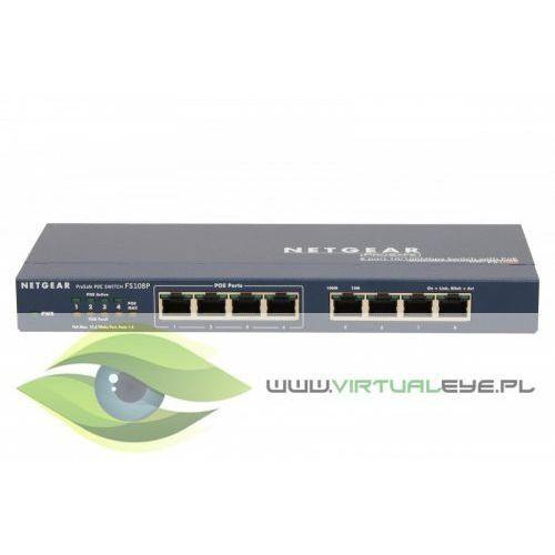 Netgear Switch Unmanaged 8xFE (4xPoE) - FS108PEU (0606449037883)