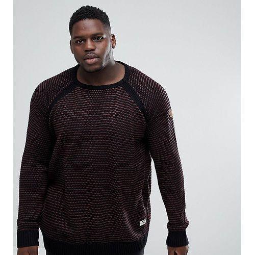 Duke King Size Raglan Sleeve Sweatshirt - Black, w 2 rozmiarach