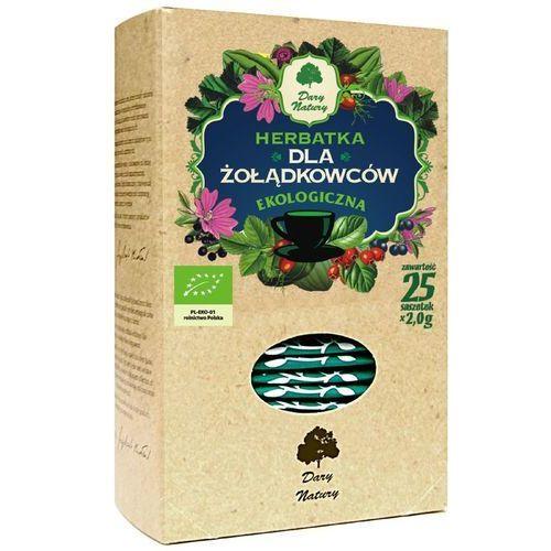 Dary natury - herbatki bio Herbatka dla żołądkowców bio (20 x 2 g) herbata dary natury (5902741005892)