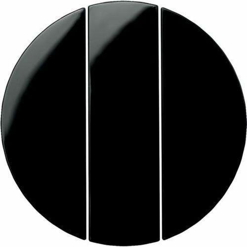 r.1/r.3 klawisze do łącznika 3-klawiszowego czarny, połysk 16652045 marki Berker