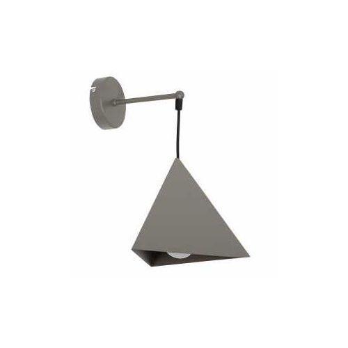 Kinkiet lampa ścienna Luminex Set 1x60W E27 szara 7417 (5907565974171)