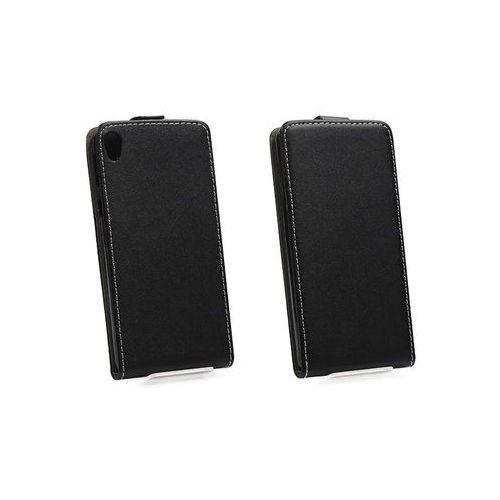 Sony xperia e5 - etui na telefon - czarny marki Forcell slim flexi