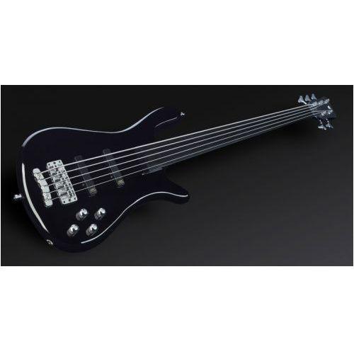 RockBass Streamer NT I 5-str. Solid Black High Polish, Fretless gitara basowa