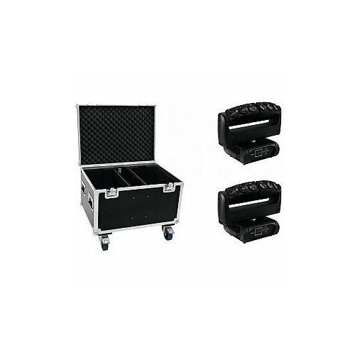 FUTURELIGHT Zestaw 2x Wave LED Moving Bar + Case