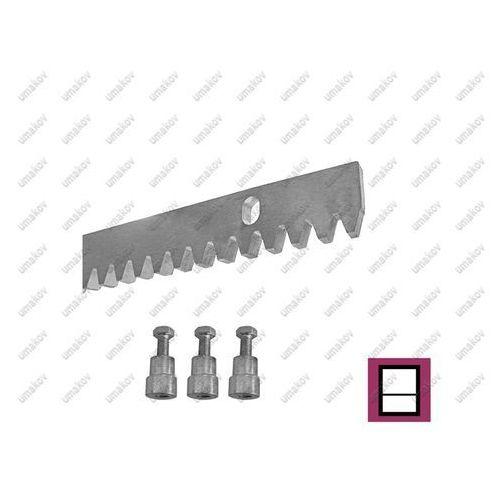 Umakov Listwa zębata zn, 30x10mm, l1m, max 1700kg