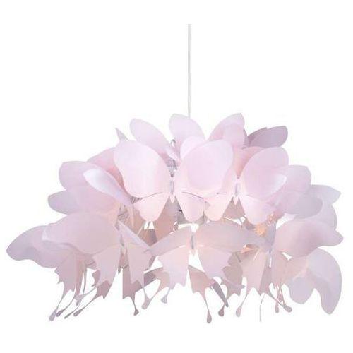 LAMPA wisząca FARFALLA LP-MD088-3439A/1P Light Prestige dekoracyjna OPRAWA zwis motyle różowe, LP-MD088-3439A/1P