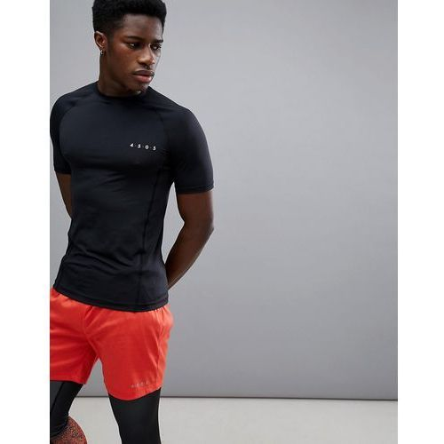 muscle t-shirt with quick dry in dark grey - grey, Asos 4505, XS-XXL