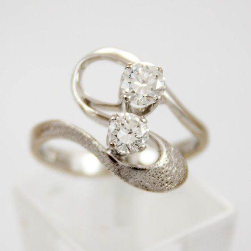 Złoty pierścionek z diamentami P1512, kolor żółty