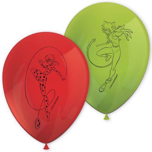 Procos disney Balony urodzinowe miraculum - 29 cm - 8 szt.