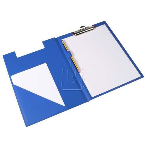Biurfol Teczka z klipem a4 niebieska (5907214101347)