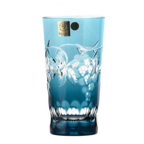 Caesar crystal 32757 szklanka winogrona, kolor turkusowy, objętość 320 ml